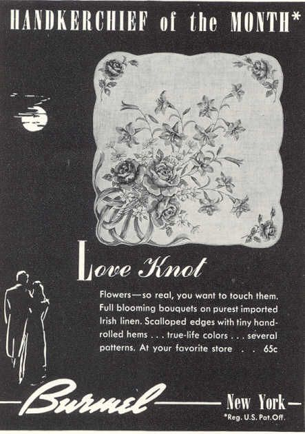 Burmel Stofftaschentuch Vogue handkerchief of the month