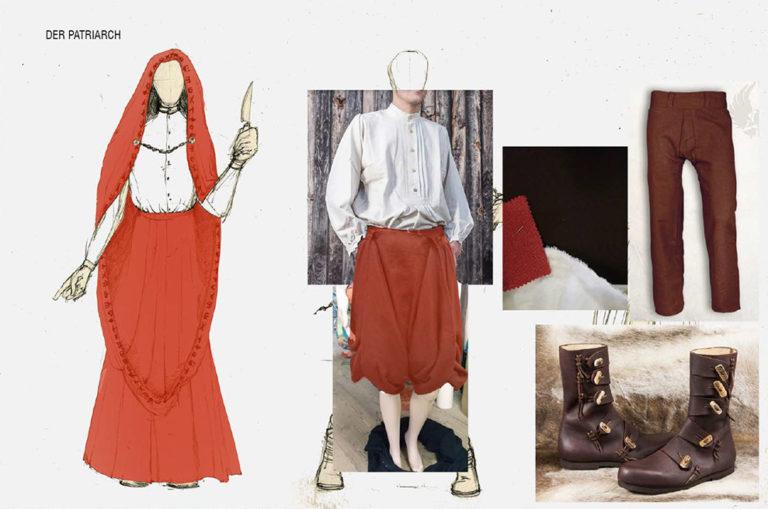 Kostüm Patriarch
